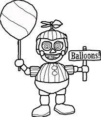happy birthday balloon coloring pages alltoys for