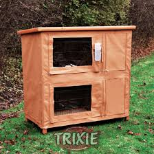 Double Rabbit Hutches Direct Pets For Your Rabbit Cover For Double Decker Rabbit Hutch