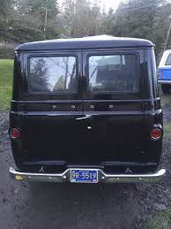1963 ford econoline van black panel van ground up restoration