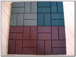 Recycled Rubber Patio Tiles by Recycled Rubber Patio Pavers Canada Modern Patio
