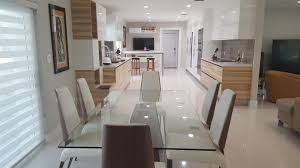 open concept design high gloss cabinets archives u2014 miami general contractor