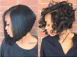 short pressed hairstyles pictures bob hairstyles on natural hair black hairstle picture
