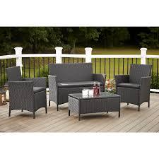 2 piece outdoor furniture cast aluminum patio conversation sets