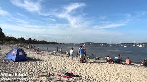 willard beach south portland maine youtube