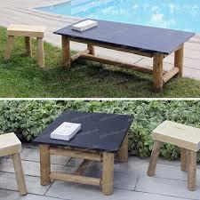 Table De Jardin En Palette De Bois by Petite Table Basse Salon De Jardin U2013 Phaichi Com