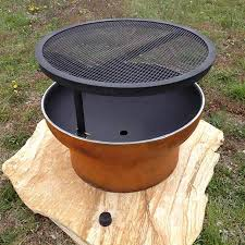 Firepit Grills Pit With Grill Rustic Artistry