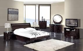 Modern Platform Bed With Lights - bedroom black and white bedroom set furniture stores