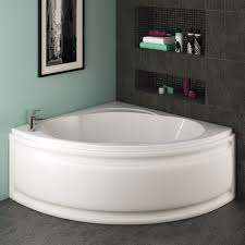 trojan laguna corner bath 1200 x 1200mm with panel at victorian