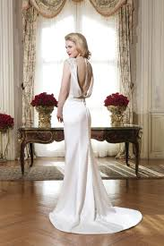 style 8764 charmeuse form fitting dress with beaded waist