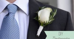how to make boutonnieres diy boutonniere diy buttonhole for the groom easy wedding diy