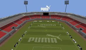 minecraft sports stadium puma in football superstars virtual store and goods kzero