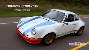Porsche 911 Vintage - magnus walker pinehurst u0026 porsches vintageautotv youtube