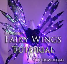 light up fairy wings light up fairy wing tutorial