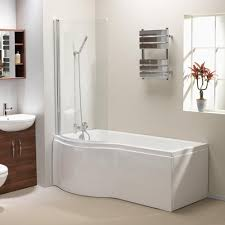 shower baths california p shaped shower bath screen front panel standard superspec 1500 1700mm