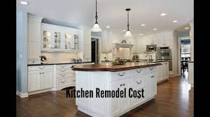 Average Kitchen Remodel Project Kitchen Remodel Cost Kitchen Remodeling Costs Youtube