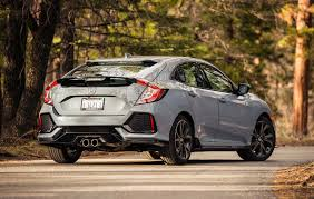 Honda Civic Lenght 2017 Honda Civic Hatchback Sport First Test Motor Trend