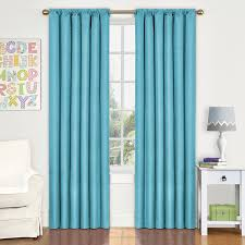 Eclipse Kids Kendall Room Darkening Thermal Curtain Panel  X - Room darkening curtains for kids
