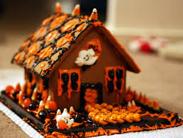 top 14 halloween gingerbread houses u2013 cheap easy party snack