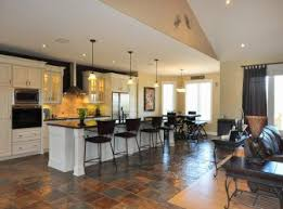 Open Concept Kitchen Living Room Small Space Open Plan Kitchen Living Room Ireland Concept Small House Dining