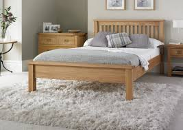 Oak Bed Frame Heritage Oak Lfe Bed Frame Light Wood Wooden Beds Beds