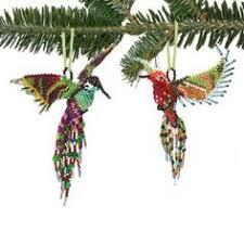 beaded hummingbird hummingbird bird ornaments and beads