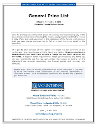 caskets prices price list and caskets mount sinai memorial parks and mortuaries