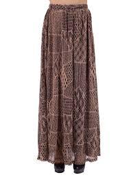oxford circus bohemian chunky abstract mesh pattern long knit maxi