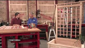 How To Make A Planter Trellis With Jim Heavey Youtube