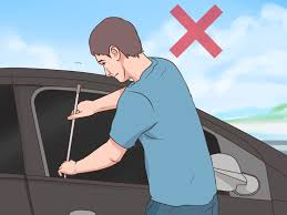 lexus rx300 driver door wont lock how to use a slim jim 9 steps with pictures wikihow