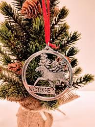 bestemorsimports norwegian pewter moose w trolls ornament