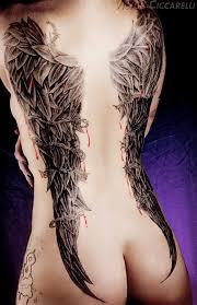 women stitched heart tattoo modern art quote design idea for men