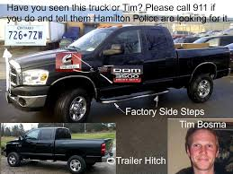 jokes on dodge trucks missing gta timothy bosma you seen this truck toronto