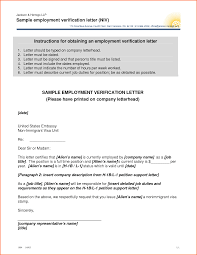 7 employment verification letter template budget template letter