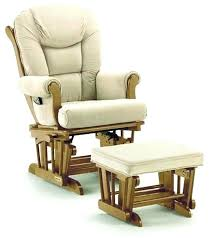 rocking chairs and gliders bow back solid oak glider rocker glider