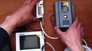como conectar un videoportero commax instalacion de videoportero