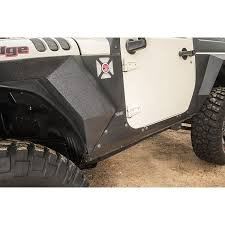 jeep body armor bumper rugged ridge 11615 11 steel body armor cladding 07 17 jeep