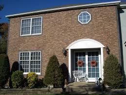 brick refacing exterior good home design creative and brick