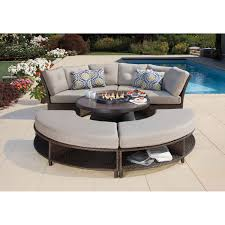 Lazy Susan For Outdoor Patio Table by Fresno 5 Piece Fire Chat Set Outdoor Rooms Pinterest