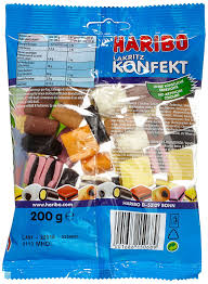 B Otisch Weiss Haribo Konfekt 200 G Amazon De Amazon Pantry