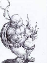 raphael ninja turtle sketch bryanheemskerk deviantart