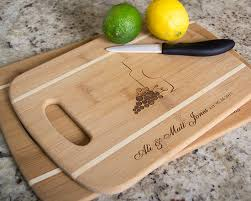 engraved cutting boards gift idea personalized cutting boards