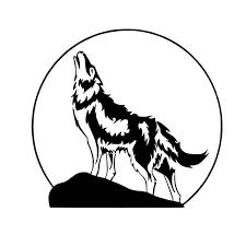 australian shepherd howling online get cheap wolf decals howling aliexpress com alibaba group