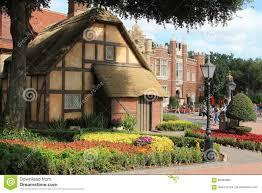 english cottage editorial stock image image 85664804