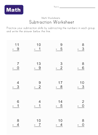 free kindergarten math worksheets printable