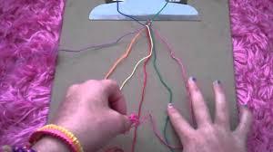 Rag Rug Bracelet How To Make The Rag Rug Friendship Bracelet Youtube