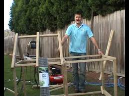 How To Build A Rabbit Hutch And Run How To Build A Rabbit Hutch Youtube
