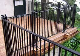Patio Handrails by Iron Deck Railing Systems Ideas Designs Styles U0026 Options Patio