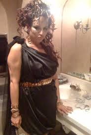 Medusa Halloween Costume Medusa Costume Wig Braid Front Snakes Sewn Braid