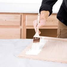 what top coat for kitchen cabinets a clear coat of polyurethane on painted kitchen cabinets can