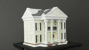 department 56 vacation snow shirley s house